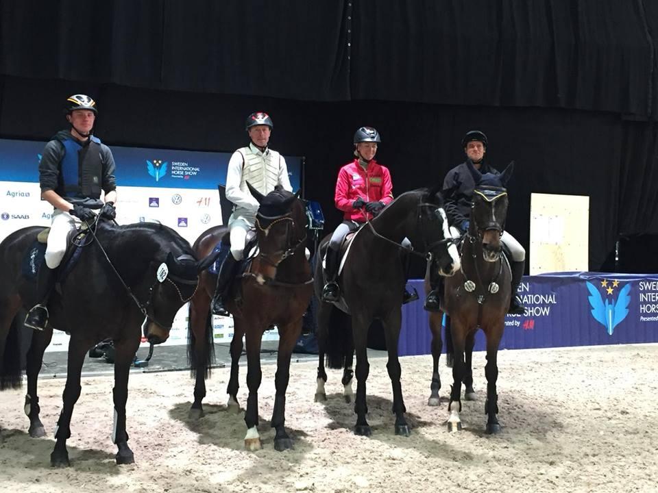 Ingrid Klimke gagne à Stockholm