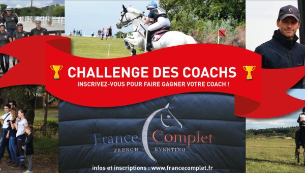 Nouveau : le challenge des coachs France Complet !
