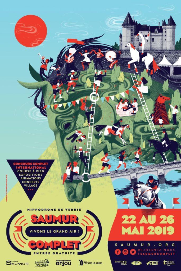 Saumur J-1 : seul CCI4*L Français cette année
