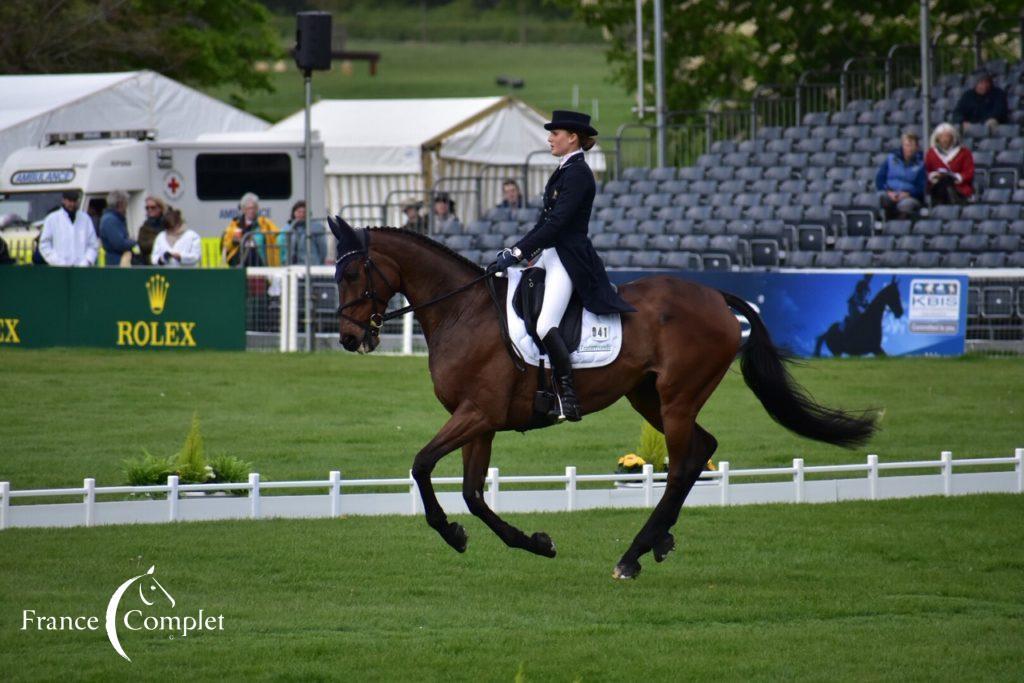 Burghley J2 : Conditions difficiles pour Clara Loiseau