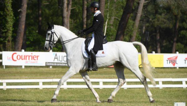 Saumur : Raphaël Cochet en tête du 3*S