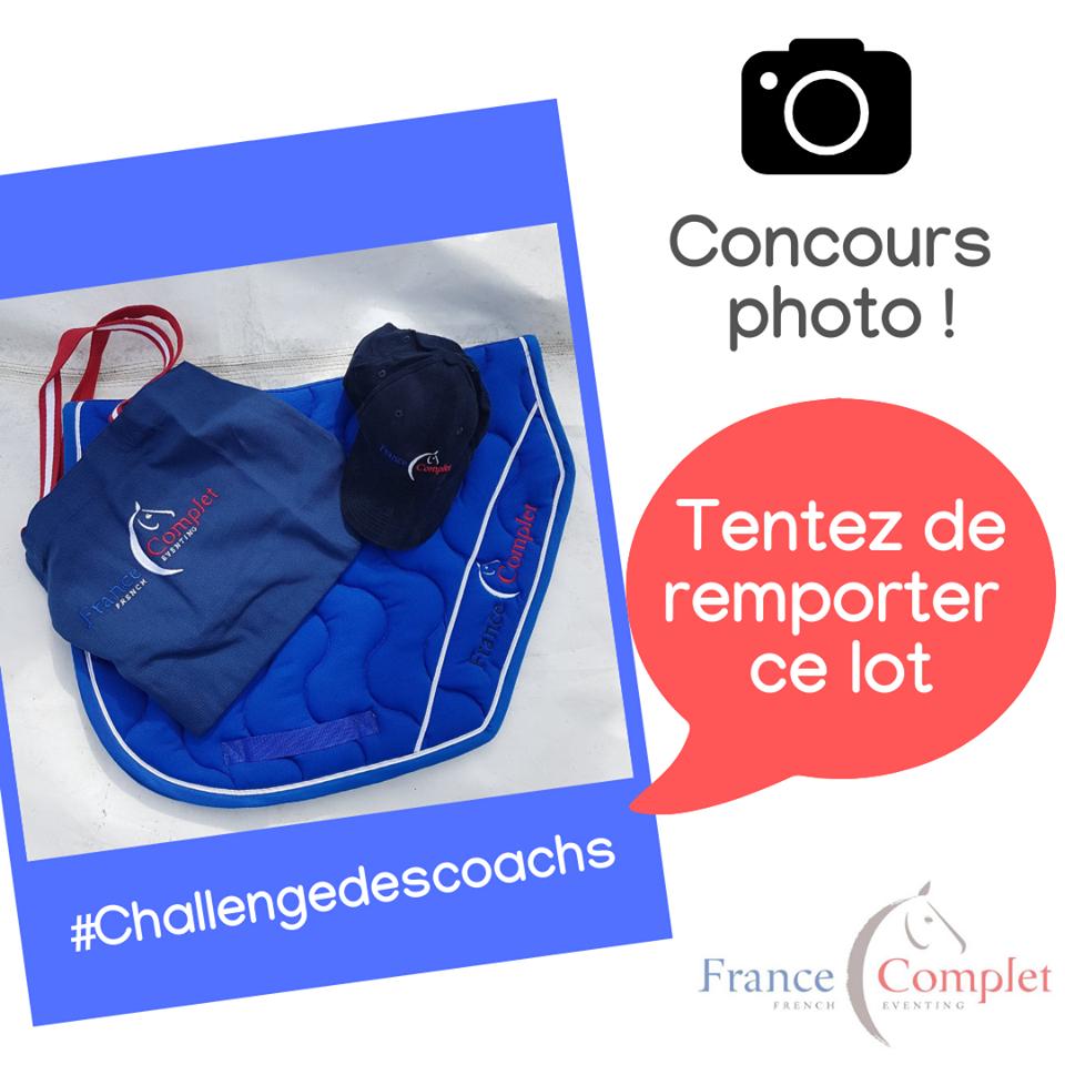 Le concours photo du Challenge des Coachs