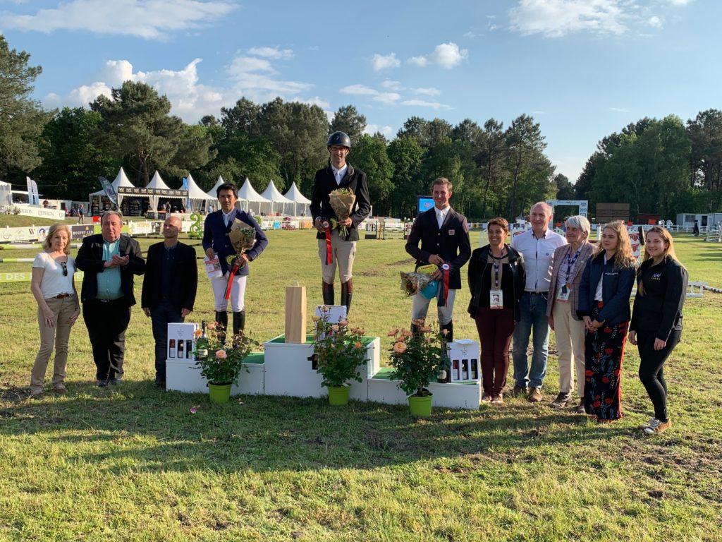 Saumur : 1eres victoires Françaises