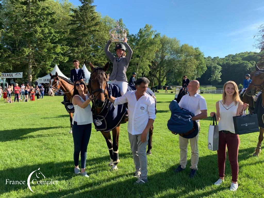 Royal Jump : Victoire d'Aurélie Riedweg dans le 1*
