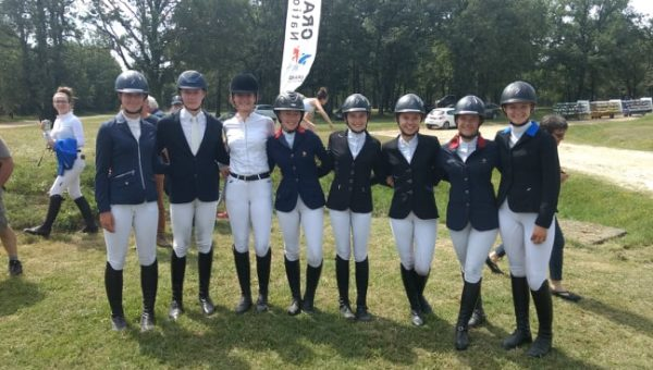 Saumur : Victoire de Nina Scherer !