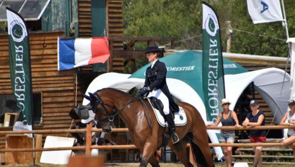 Sandillon : Clara Loiseau gagne le dressage du 3*