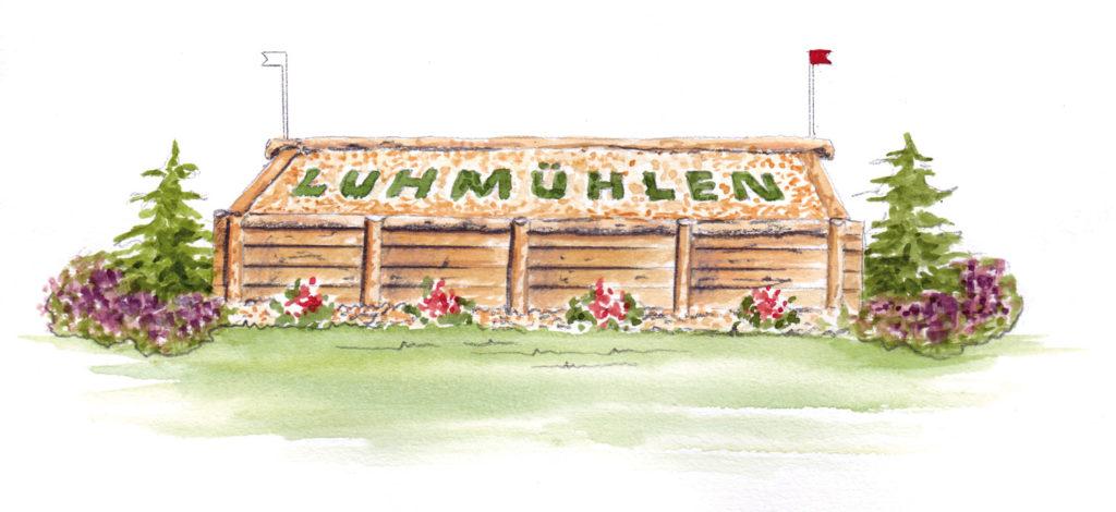 Luhmühlen : la reconnaissance du cross des Europe