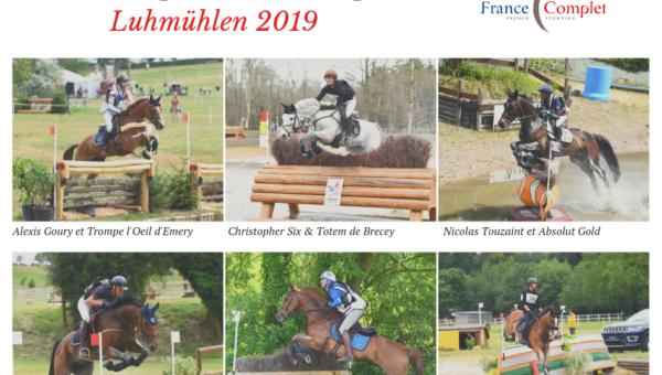 Des nouvelles de l'équipe de France avant Luhmühlen
