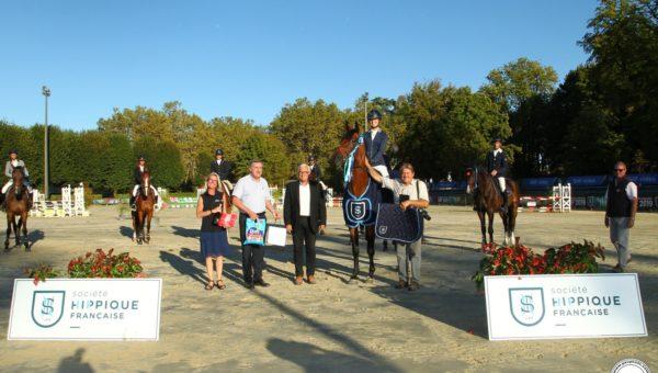 Pompadour J2 : Fara des Loges et Margaux Crouail remportent les CL1