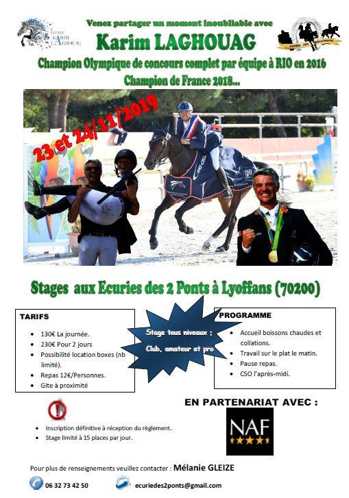 Calendrier Concours Cso 2020.Stages France Complet