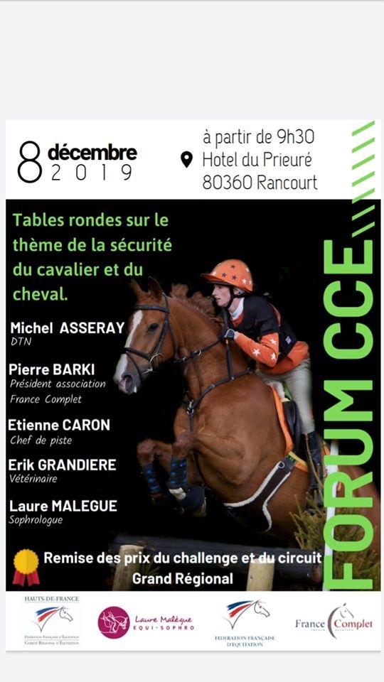 Forum CCE le 8 décembre
