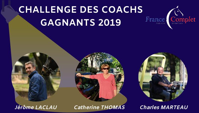 Challenge des Coachs : les gagnants 2019 !