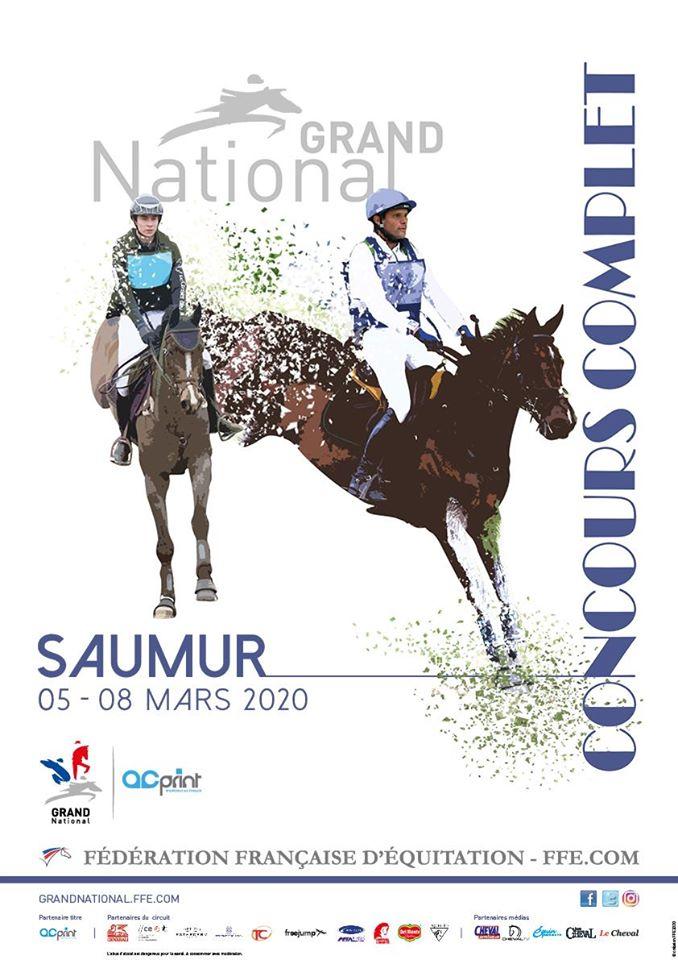 Saumur : la 1ère étape du Grand National fait carton plein