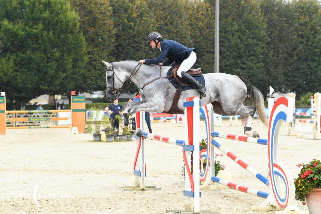 Pompadour J4 : un très bon week-end pour Thomas Carlile et ses jeunes chevaux !