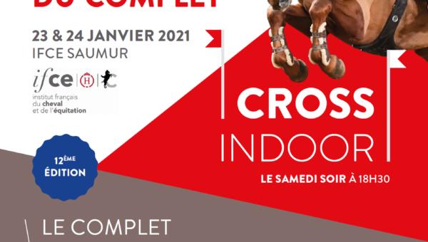 Ouverture de la billetterie pour les Journées du Complet et le Cross Indoor 2021 !