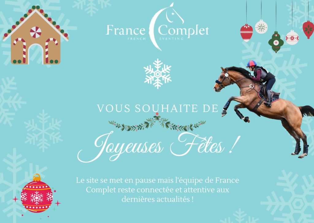 France Complet vous souhaite de joyeuses fêtes de fin d'année !!