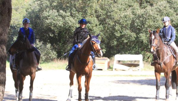 Hivernales : l'étape de Cornillon a fait des cavaliers heureux