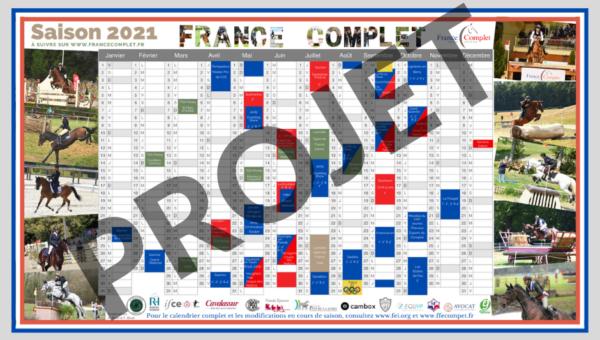 Le calendrier France Complet 2021 en version numérique !