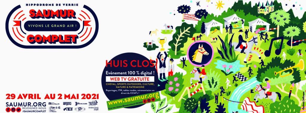 Les couples engagés pour l'International de Saumur