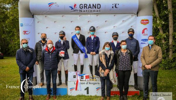 Grand National du Lion d'Angers: le finish doré de Nicolas Touzaint et Absolut Gold
