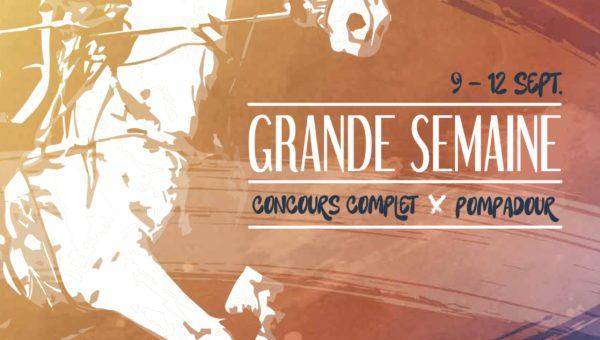 Rendez-vous à la Grande Semaine de Pompadour du 9 au 12 septembre