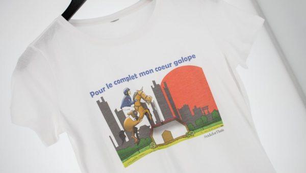 Fonds de Dotation Thaïs Meheust : opération t-shirt «Pour le complet mon cœur galope»