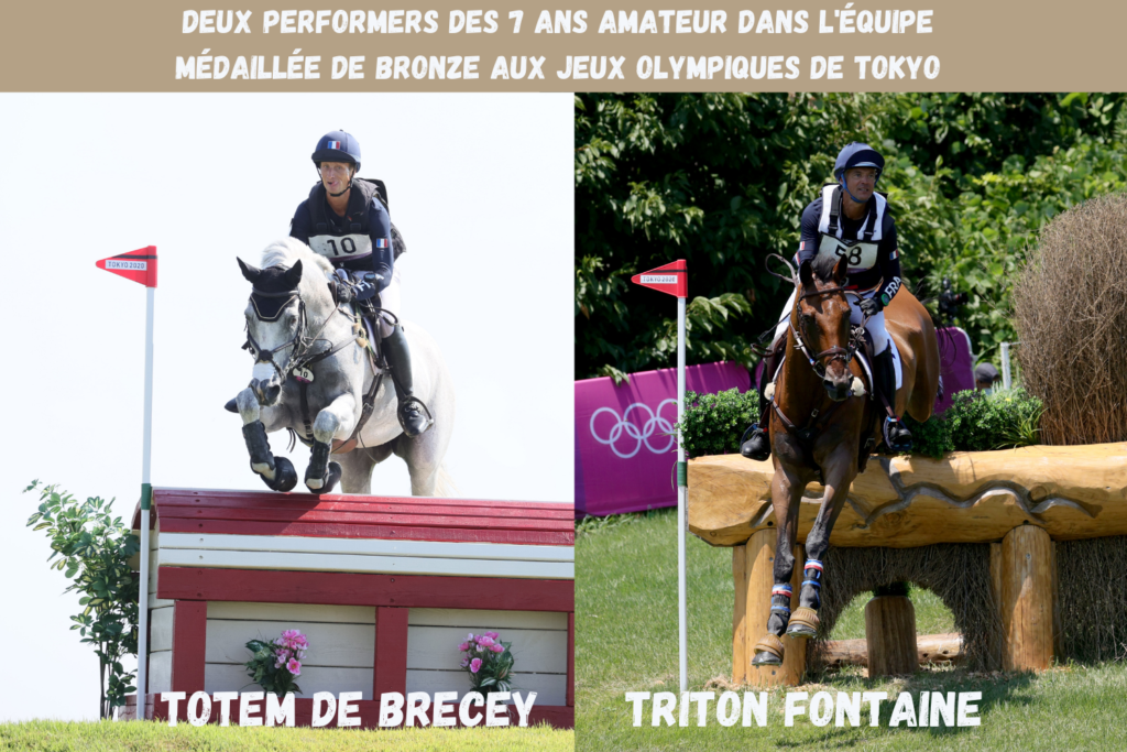 Totem de Brecey et Triton Fontaine, ambassadeurs du Circuit des 7 ans Amateur France Complet