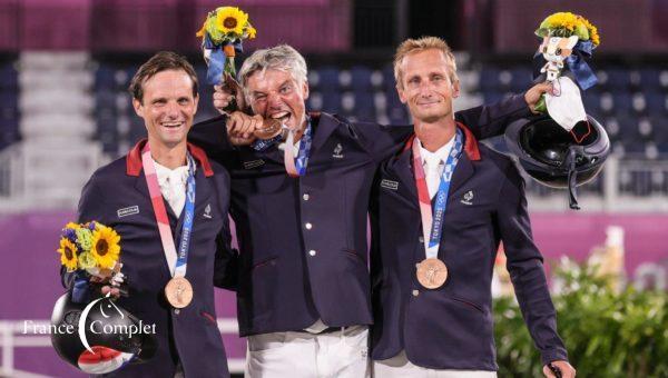 Rdv pour célébrer la médaille des JO de nos Bleus !