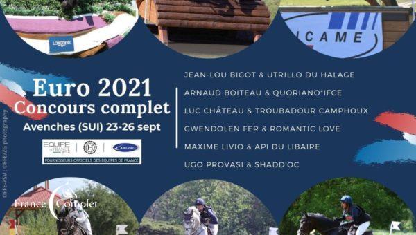 CH-EU Avenches: la sélection de l'Equipe de France